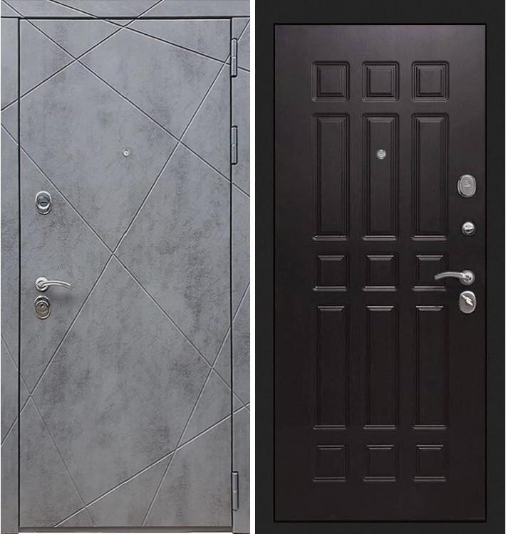 Входная дверь Лекс Соната Штукатурка графит / Венге (панель №29)