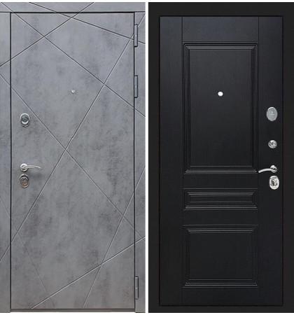 Входная дверь Лекс Соната Штукатурка графит / Венге (панель №94)
