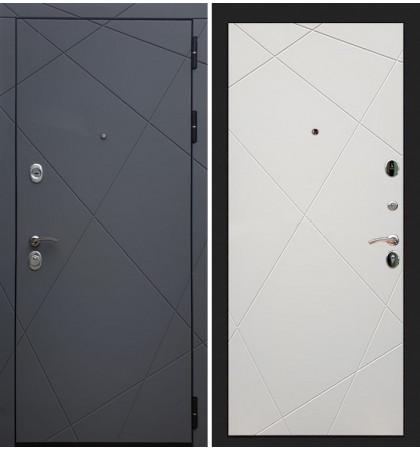 Входная дверь Лекс Соната Графит софт / Шампань софт (панель №117)