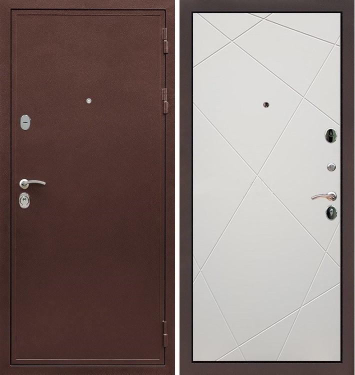 Входная дверь Цезарь 5А / Шампань софт (панель №117)
