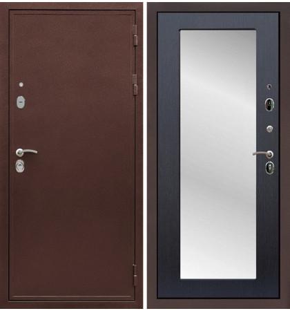 Входная дверь Цезарь 5А / с зеркалом Венге (панель №37)