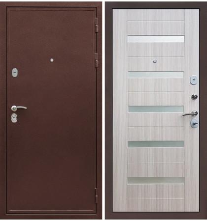 Входная дверь Цезарь 5А / Сицилио Сандал белый (панель №46)