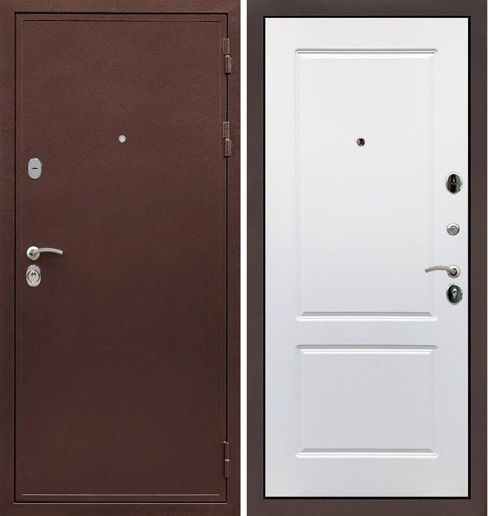 Входная дверь Цезарь 5А / Белый софт(панель №5)