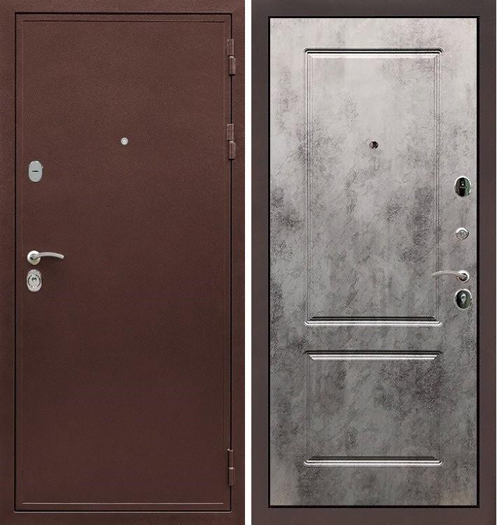 Входная дверь Цезарь 5А / Бетон светлый (панель №5)