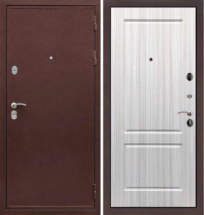 Входная дверь Цезарь 5А / Сандал белый (панель №5)