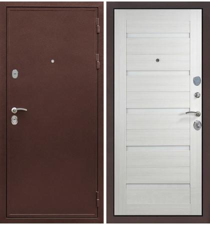 Входная дверь Цезарь 5А / Клеопатра Лиственница беж (панель №66)