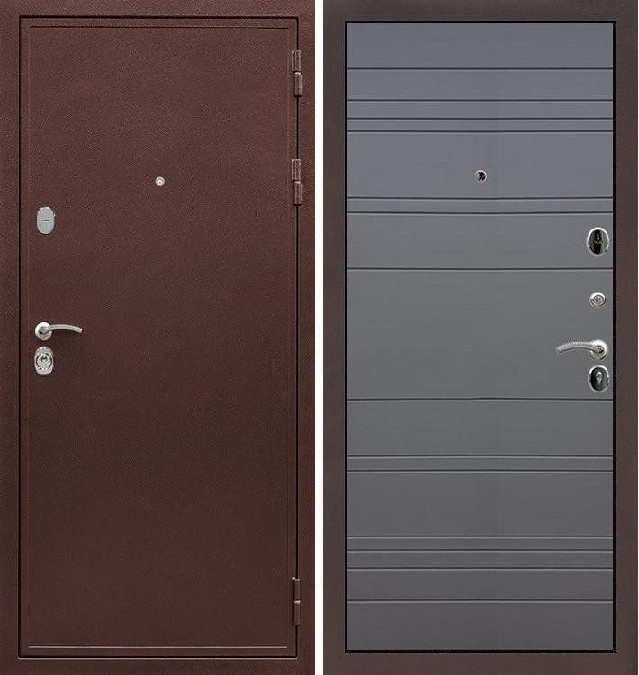 Входная дверь Цезарь 5А / Графит софт (панель №70)
