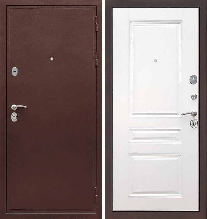 Входная дверь Цезарь 5А / Белый софт (панель №94)