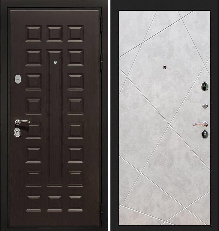 Входная дверь Гладиатор / Бетон светлый (панель №117)