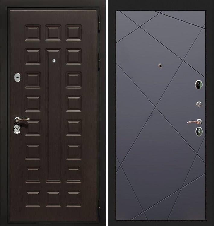 Входная дверь Гладиатор / Графит софт (панель №117)