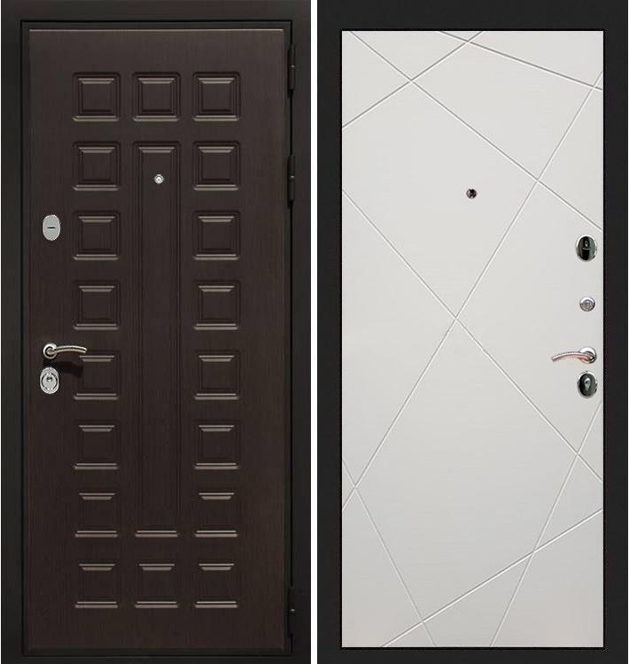 Входная дверь Гладиатор / Шампань софт (панель №117)