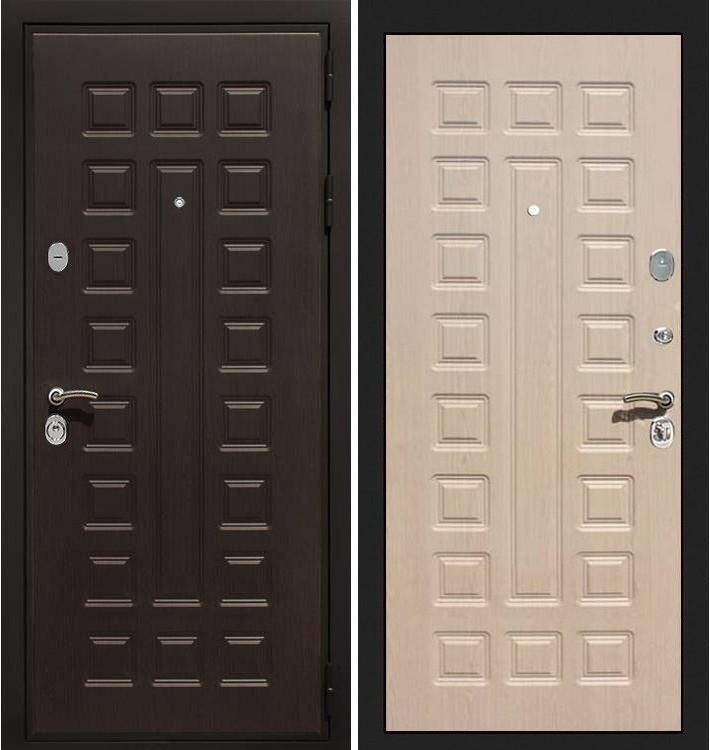 Входная дверь Гладиатор / Беленый дуб (панель №20)
