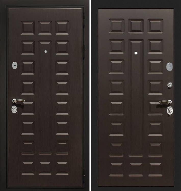 Входная дверь Гладиатор / Венге (панель №21)