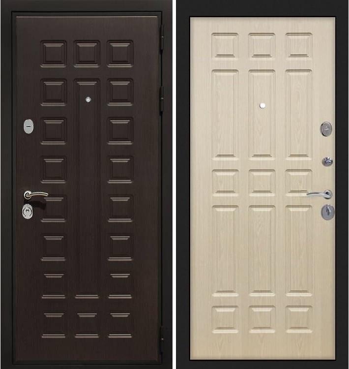 Входная дверь Гладиатор / Беленый дуб (панель №28)
