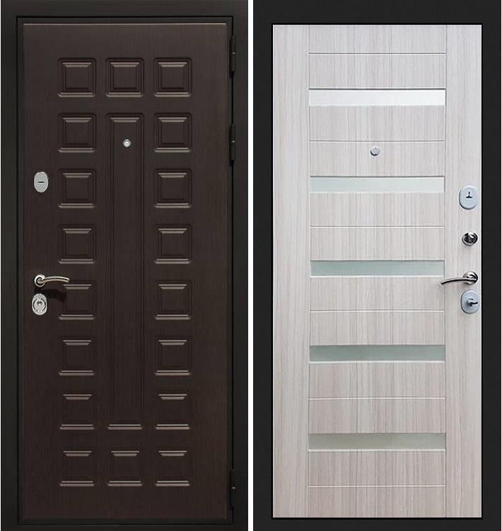 Входная дверь Гладиатор / Сицилио Сандал белый (панель №46)