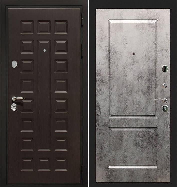 Входная дверь Гладиатор / Бетон светлый (панель №5)