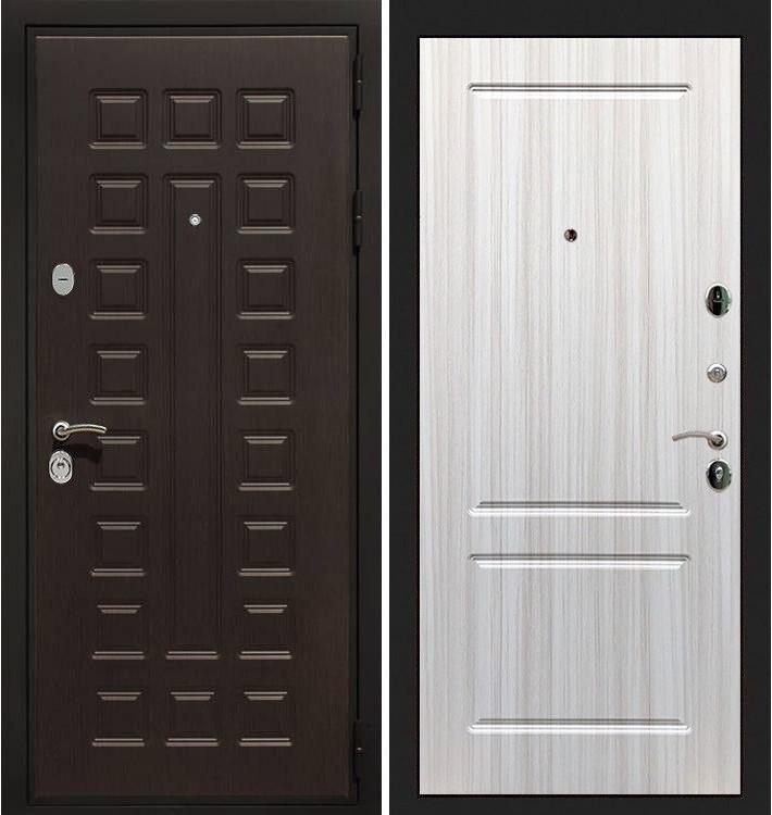 Входная дверь Гладиатор / Сандал белый (панель №5)