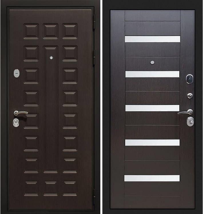Входная дверь Гладиатор / Сицилио Венге (панель №51)