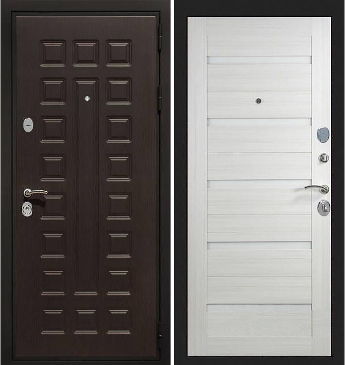 Входная дверь Гладиатор / Клеопатра Лиственница беж (панель №66)