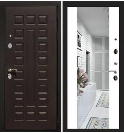 Входная дверь Гладиатор / Стиль Белый софт (панель №61)