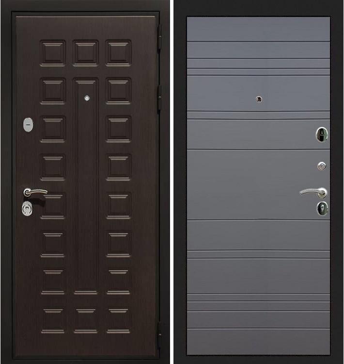 Входная дверь Гладиатор / Графит софт (панель №70)