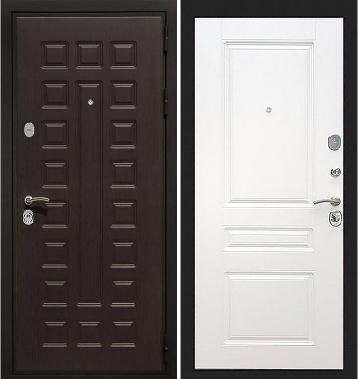 Входная дверь Гладиатор / Белый софт (панель №94)