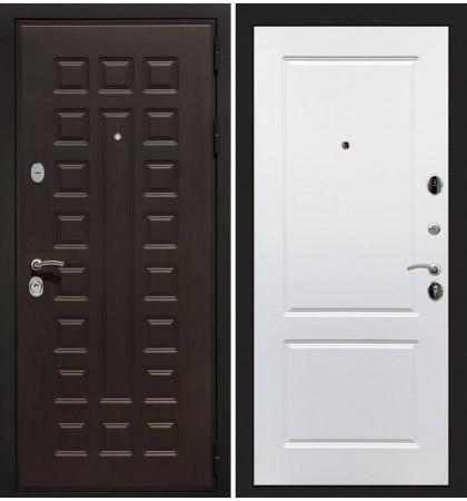 Входная дверь Гладиатор / Белый софт (панель №5)