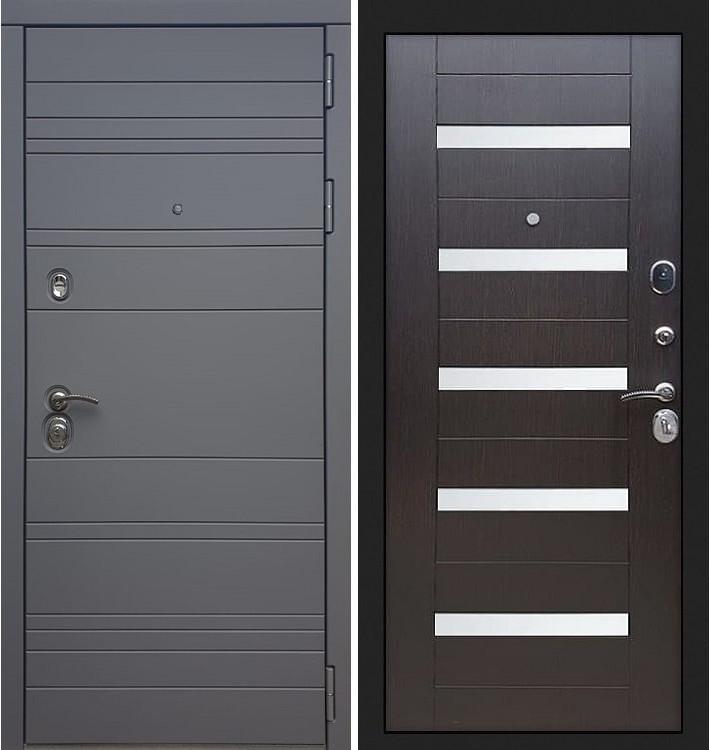 Входная дверь Сенатор 3К Графит софт / Сицилио Венге (панель №51)