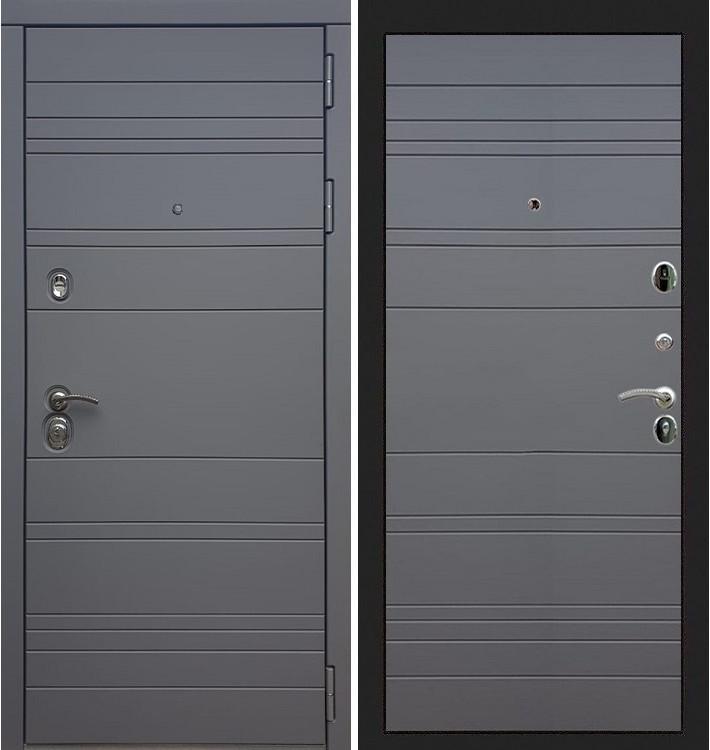 Входная дверь Сенатор 3К Графит софт / Графит софт (панель №70)