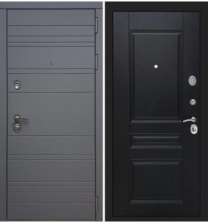 Входная дверь Сенатор 3К Графит софт / Венге (панель №94)