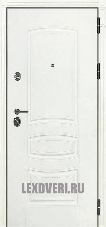 Дверь Лекс Сенатор 3К Шагрень белая
