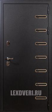 Дверь Лекс Витязь (Черный шелк)