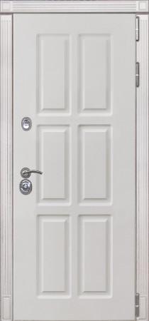 Дверь Лекс Сенатор 10 Белый снег софт