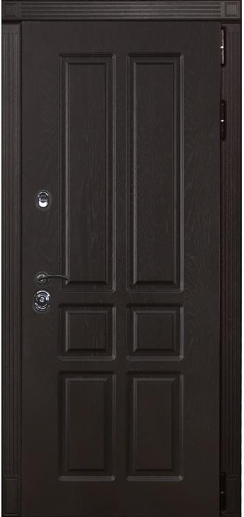 Дверь Лекс Сенатор 12 Ясень шоколадный