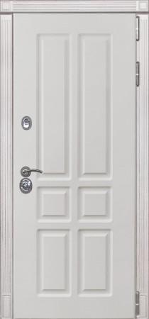 Дверь Лекс Сенатор 13 Белый снег софт