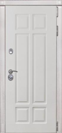 Дверь Лекс Сенатор 16 Белый снег софт