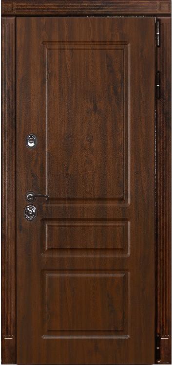 Дверь Лекс Сенатор 17 Дуб темный VINORIT