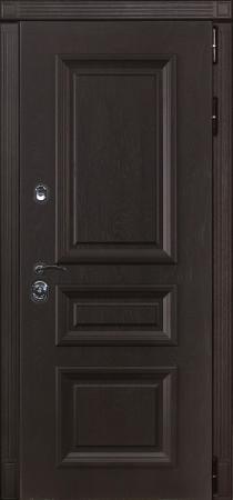 Дверь Лекс Сенатор 23 Ясень шоколадный с багетом
