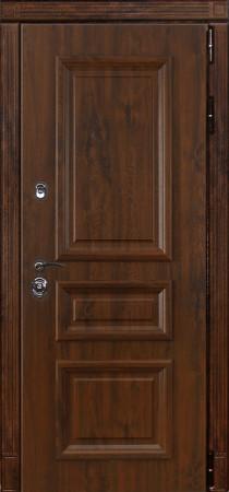 Дверь Лекс Сенатор 24 Дуб темный с багетом