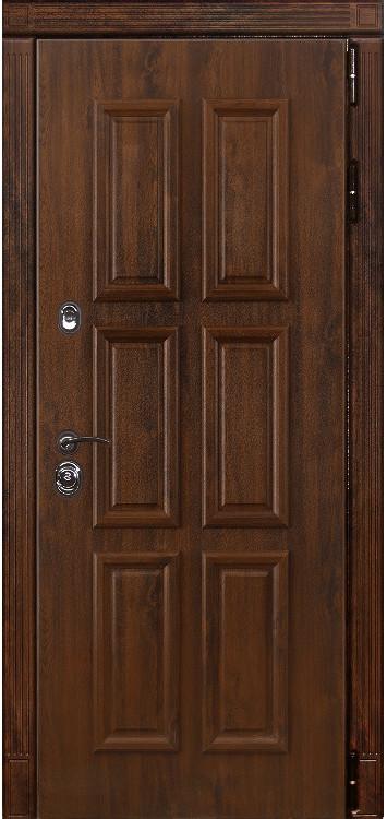 Дверь Лекс Легион 25 Дуб темный багет