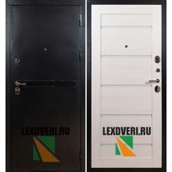 Дверь Лекс Титан 7Х ЭкоШпон (Беленый дуб)