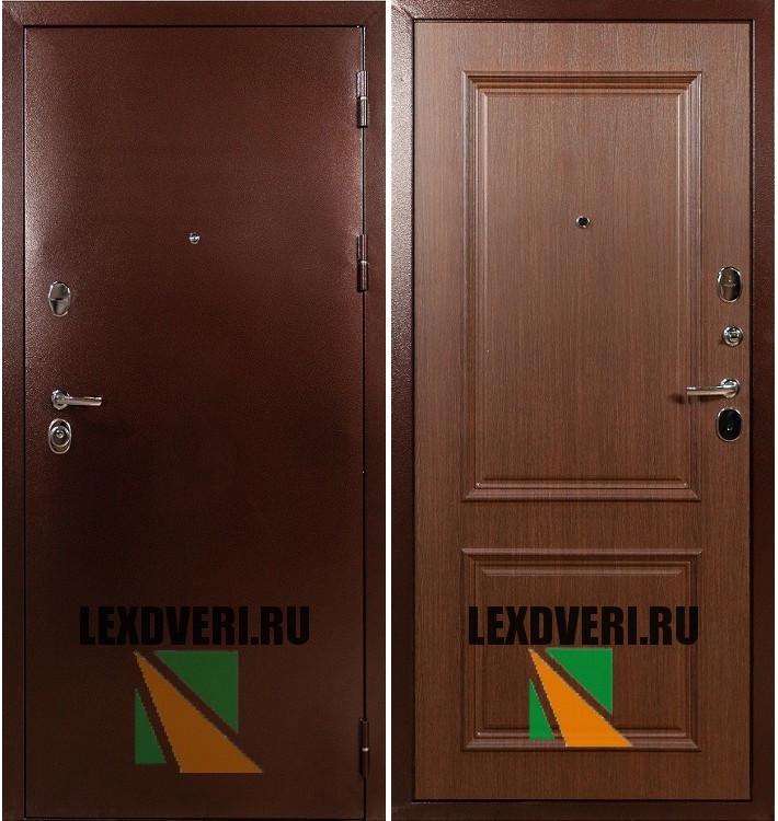 Дверь Лекс Титан (Орех с 3D багетом)
