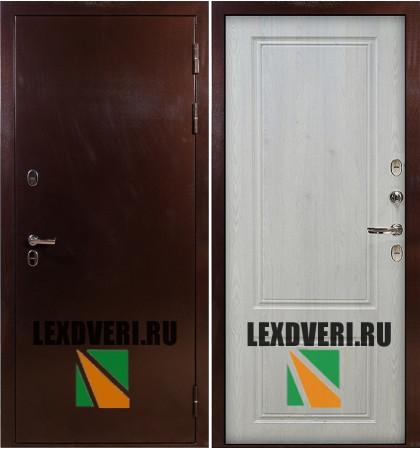Дверь Лекс Термо Стандарт 3К (Сосна белая)