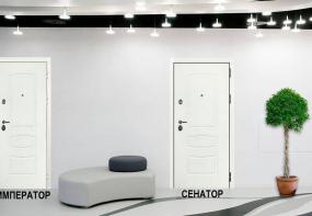 Белые Лекс двери специально для застройщика ПИК