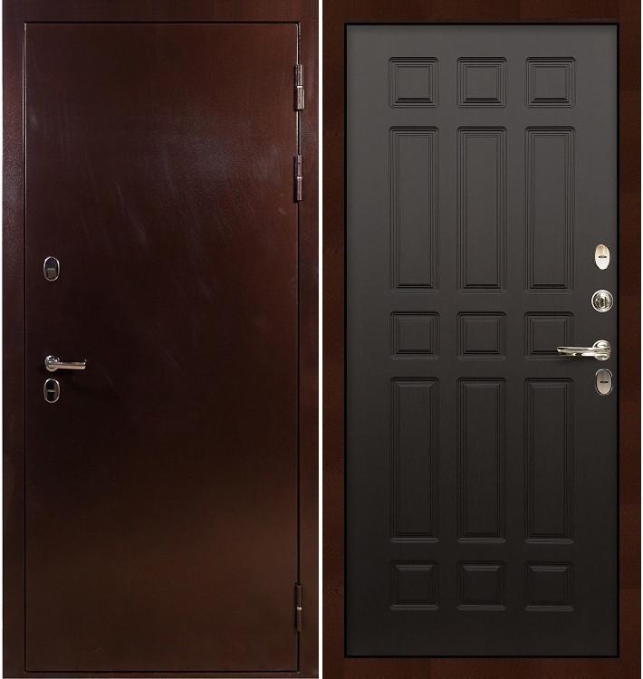 Входная дверь с терморазрывом Сибирь 3К / Венге (панель №29)