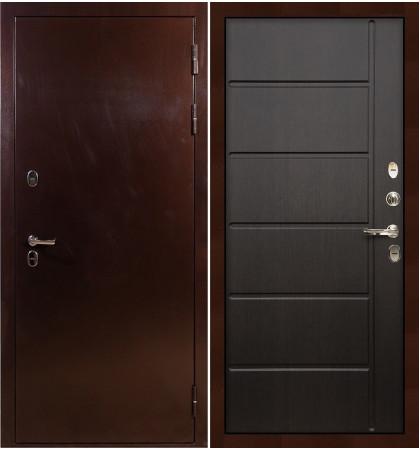 Входная дверь с терморазрывом Сибирь 3К / Венге (панель №41)