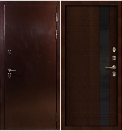 Входная дверь с терморазрывом Сибирь 3К / Новита Венге (панель №53)