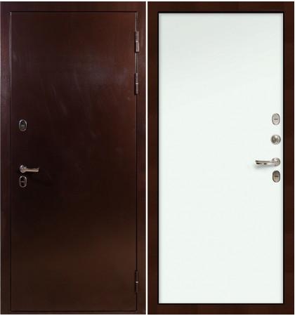 Входная дверь с терморазрывом Сибирь 3К / Белый винорит (панель №59)