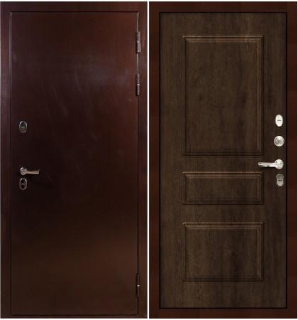 Входная дверь с терморазрывом Сибирь 3К / Алмон 28 (панель №60)