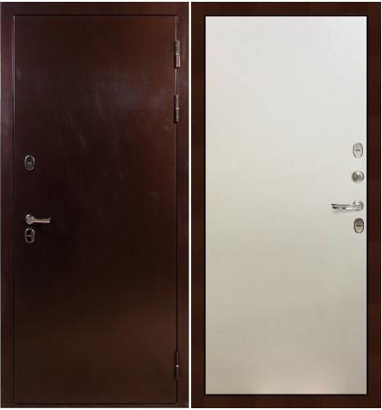 Входная дверь с терморазрывом Сибирь 3К / Белый ясень (панель №62)